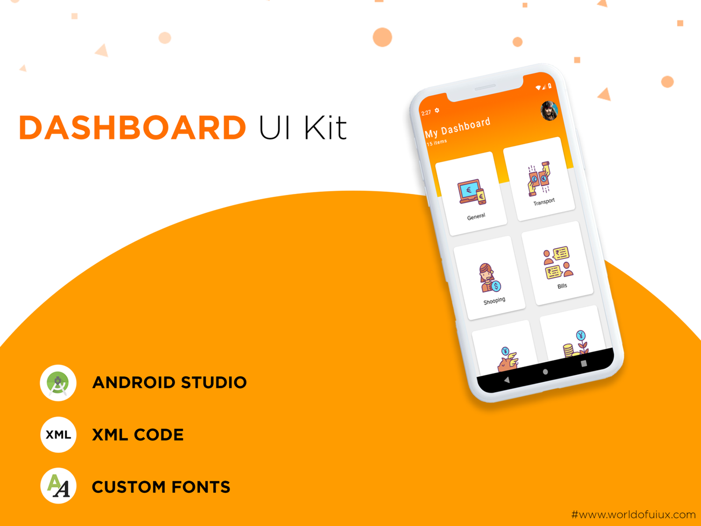 Dashboard Free UI Kit