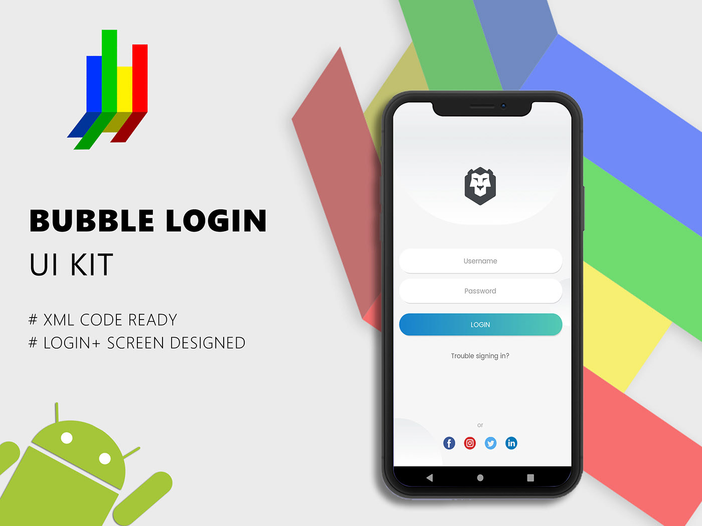 Bubble Login UI Kit