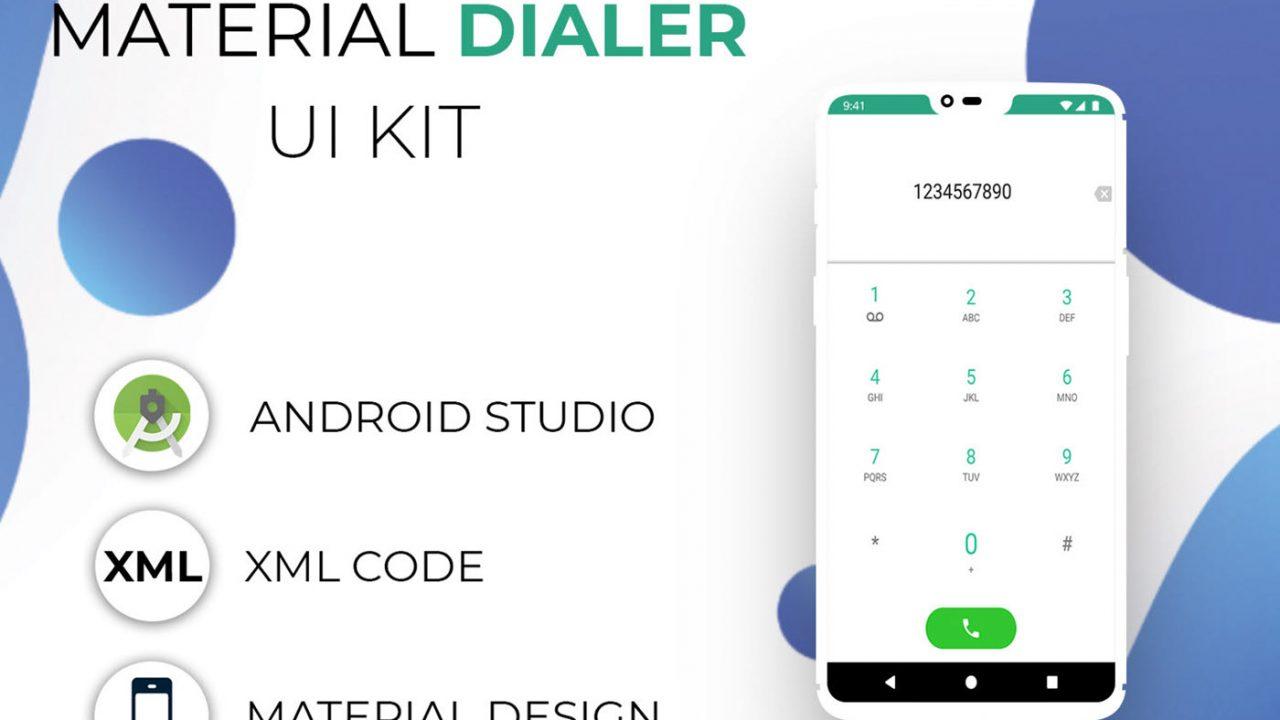 Material Dialer UI UX Kit