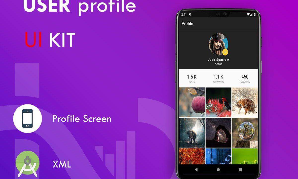 Profile UI Kit Free