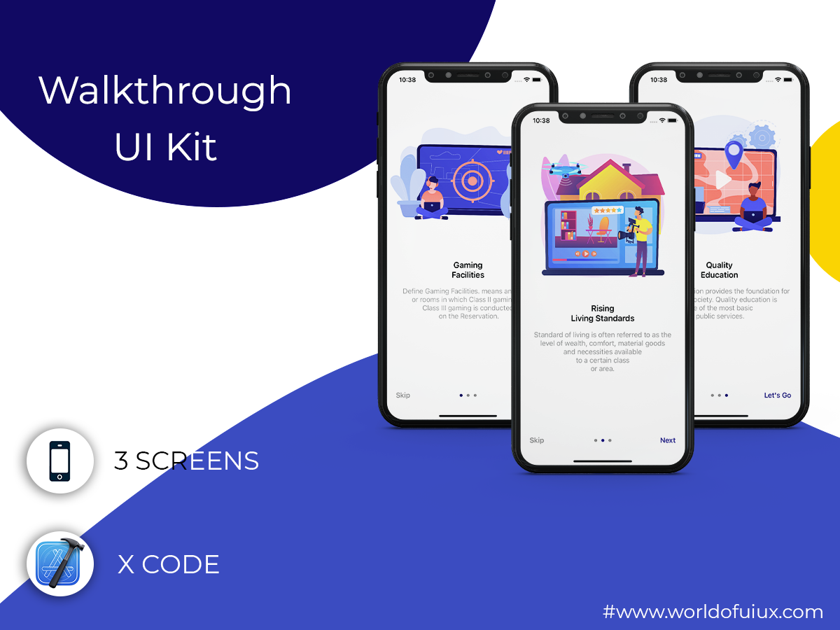 Walkthrough UI Kit