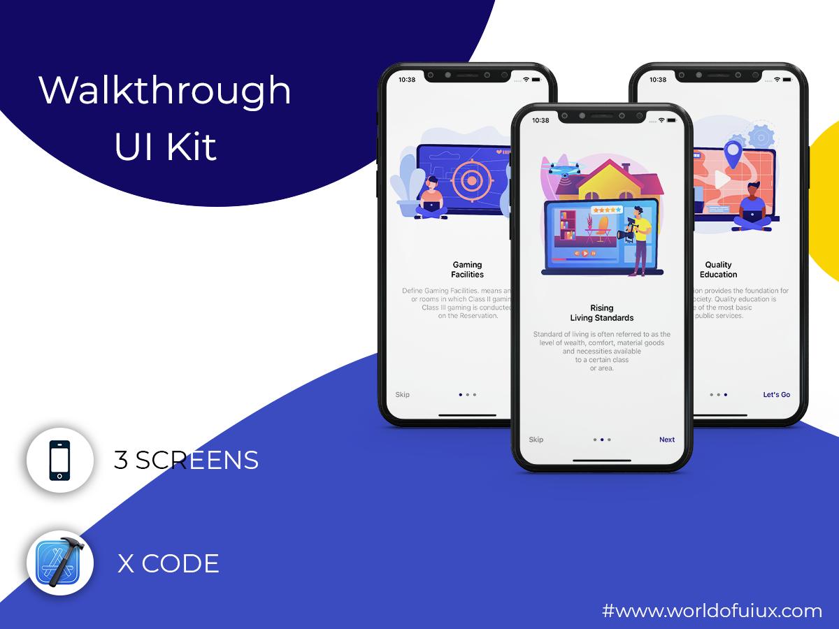 Walkthrough UI Kit